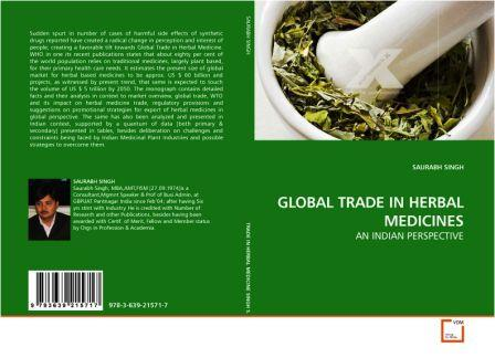 Global Trade in Herbal Medicines : An Indian Perpective - Cover Pages