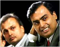 Mukesh and Anil Ambani in Happier Times