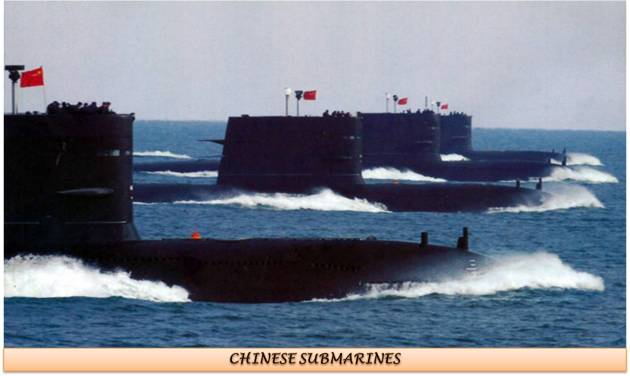 Chinese Submarines Fleet