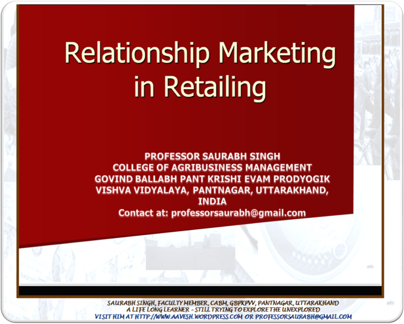 saurabh patel and ambani relationship marketing