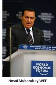 Hosni Mubarak at World Economic Forum