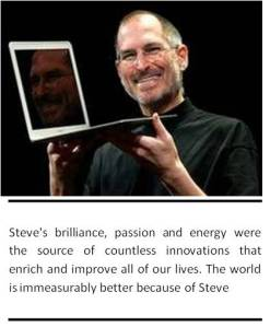 Photograph of Steve Jobs
