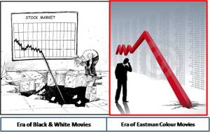 Pictorial Representation Market Crash